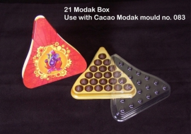 21Pcs Modak Box